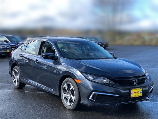 New 2020 Honda Civic LX 2.0L CVT Sedan