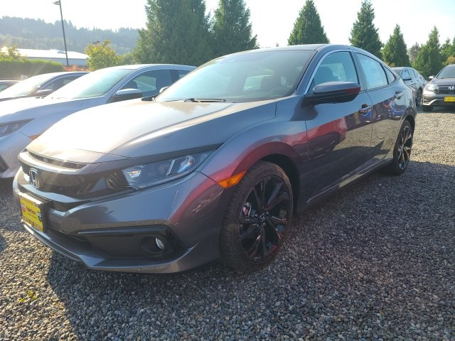 New 2020 Honda Civic Sport 2.0L CVT Sedan