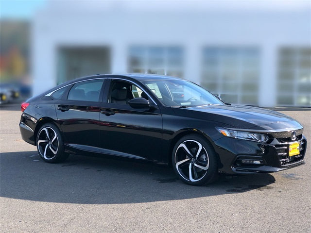 New 2019 Honda Accord 2.0T Sport 10-Speed Automatic