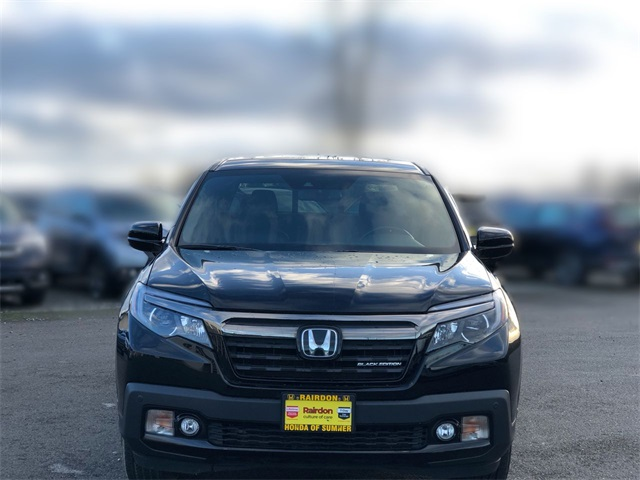 Pre-Owned 2017 Honda Ridgeline Black Edition